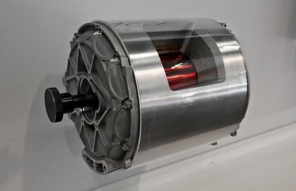 tesla model s бесколлекторный двигатель