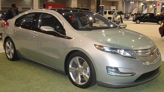 Электрокар Chevrolet Volt