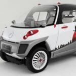 Японский электромобиль, который умеет плавать