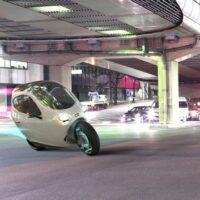 C1 от Lit Motors. Электрический полуавтомобиль, полумотоцикл.