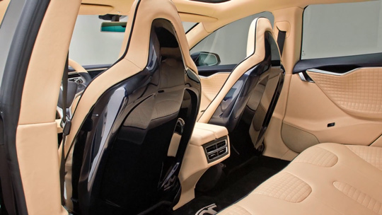 Tesla Model S самый дорого тюнинг