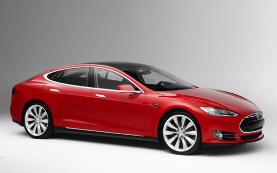 Элекстромобиль Tesla Model S