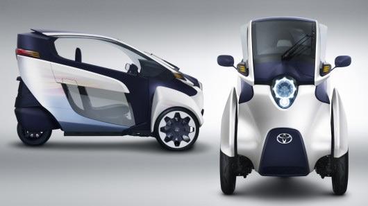 Электромобиль Toyota i-Road