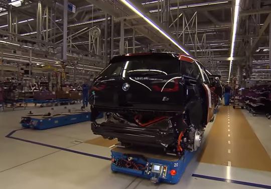 Сборка электромобилей BMW i3