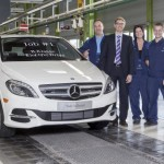 Начинается производство электрического Mercedes-Benz B-класса
