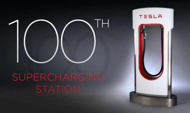 tesla-100th-superchargers