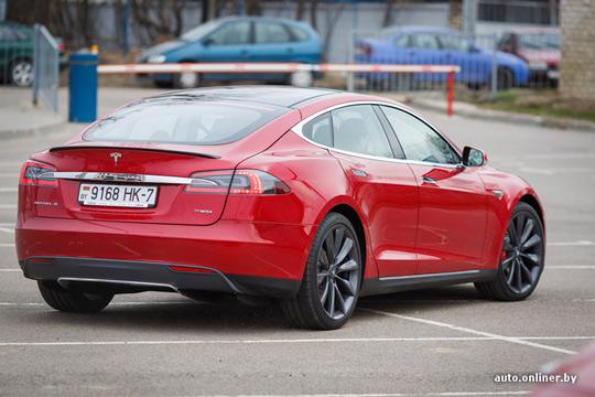 Tesla Model S в Беларуси