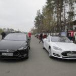 Электромобили Tesla Model S появились в Киеве