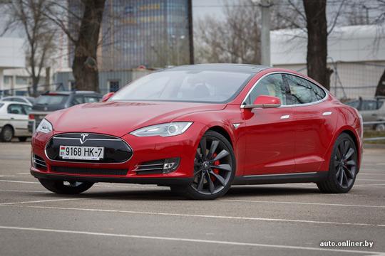 Tesla Model S в Минске