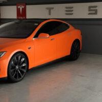 Дополнительные цвета для Tesla Model S