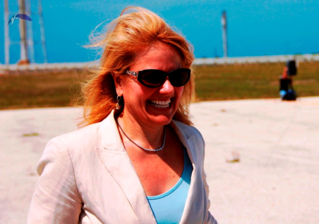 SpaceX-COO-and-President-Gwynne-Shotwell-NASA-Kennedy-Space-Center-KSC-Launch-Complex
