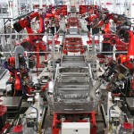 Tesla приостановили фабрику на 2 недели для подготовки производства Model X
