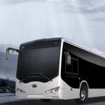 Электрический автобус BYD проехал 750 миль за 24 часа