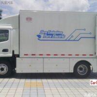 BYD представила электрический грузовик T5