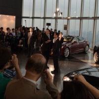 Tesla Model S в Японии